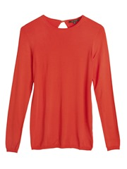 PT WC Keyhole Sweater Orange