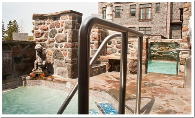 Ste. Anne's Spa Outdoor Grotto