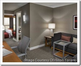 These renovated suites offer an extensive work area, private guest room and a sofa that pulls out into a queen bed. Unique touches such as a rolling Laptop table and oversized ottoman adds to the comfort and convenience.