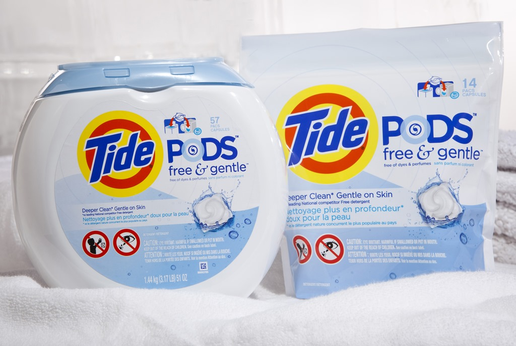Tide Launches Pods For Sensitive Skin Giveaway