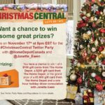 Christmas Central Twitter Party - Invitation for Listen To Lena Website (2)