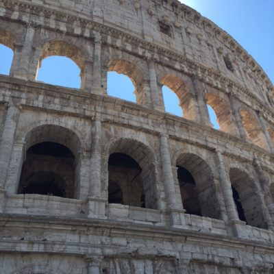 Walking In The Shadow Of The Colosseum: Through Eternity